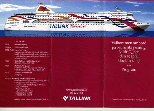 Baltic Queens jungfrufärd