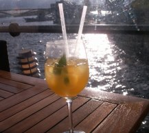 Coctail in the sunset!