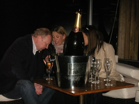 Tattinger magnum champagne