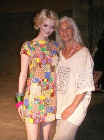 Lydia + older model