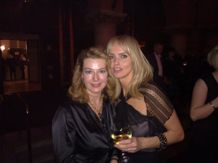 Izabella Scorupco & Larisa Johansson