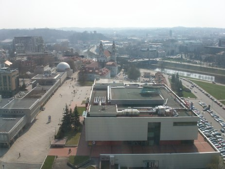 view of hotel Radisson city