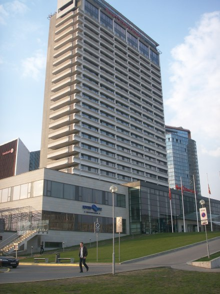 Hotel Litauen, numera Radission hotell
