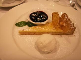 hotel Radisson dessert