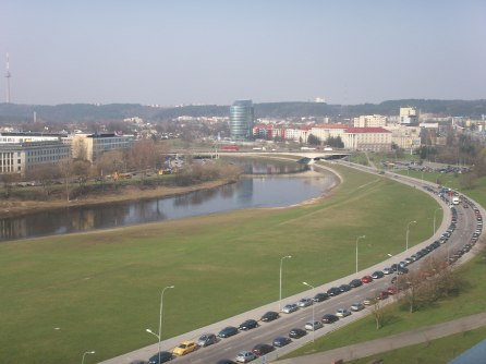 view from hotel Radisson