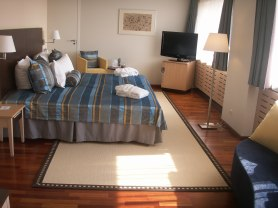 suite at hotel Radisson