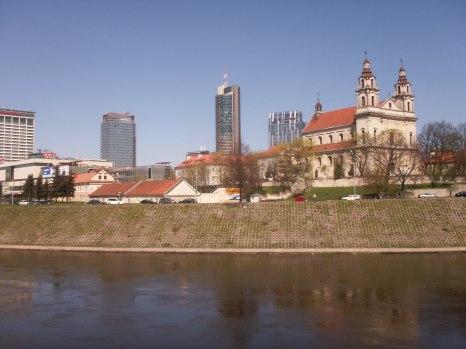 old & new Vilnius
