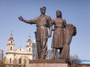 Sovjetbridge monument in Vilnius