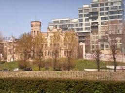 old & new in Vilnius