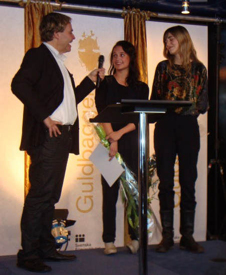 Guldbagge nomineringar 2010 - Alicia Vikander