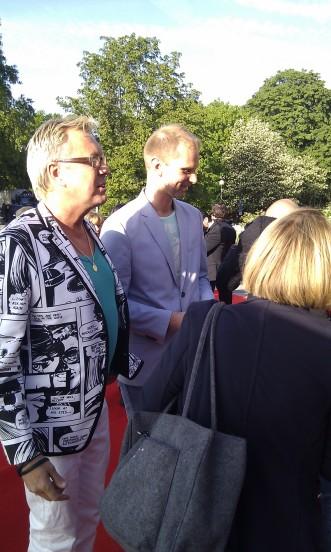 "Lars-Åke ""Babsan"" Wilhelmsson med sällskap"