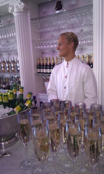 Champagne som fördrink