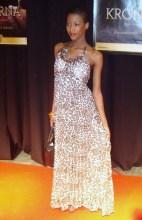 elegant klänning på fin dam