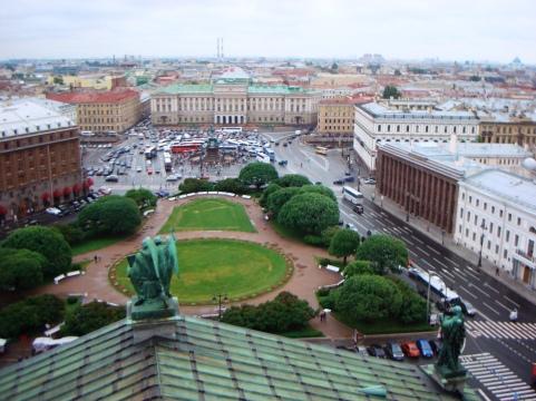 Utsikt ifrån Isak-katedralen