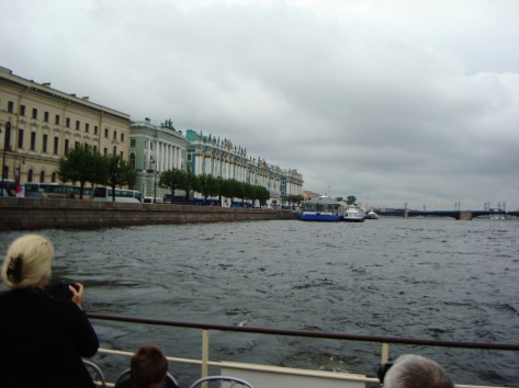 på floden Neva