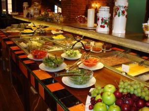 lunchbuffé på SOKOS Hotel