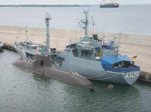 Ubåtsbesök i Tallinn