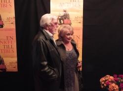 Owe Thörnqvist med fru