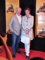 Loa Falkman med fru