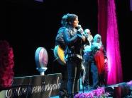 Carola på scen