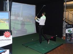 prova på golf