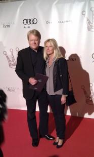 Lars Adaktusson med fru