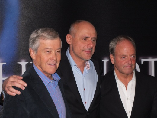 Producenterna Bertil Olsson, Börje Hansson, Peter Possne