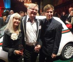 Leif Schulman med fru och sällskap