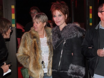 Anne-Lie Rydé med sällskap