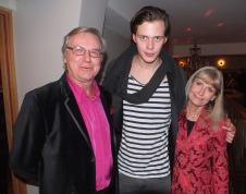 Leif & Anne Schulman med Bill Skarsgård