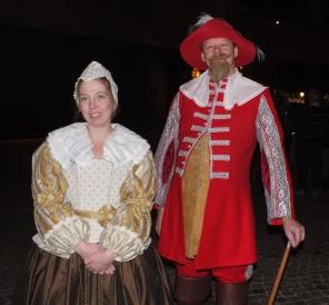 Tidsenlig Vasaklädsel 1628