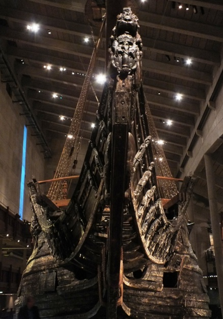 Vasa ship from 1628