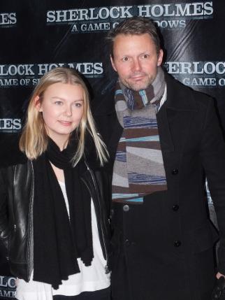 Felix Herngren och dottern Vera