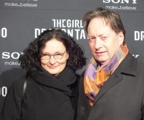 Horace Engdahl med fru