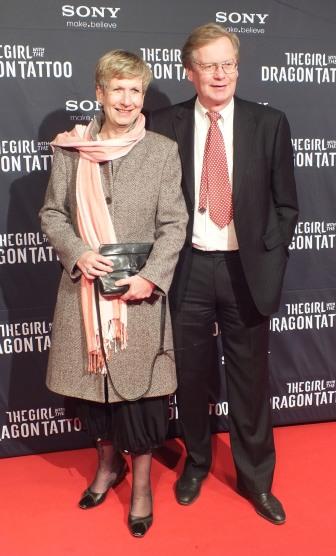 Norges ambassadör Anne K. Lund med man