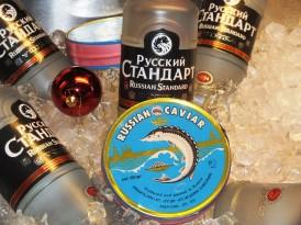 Rysk kaviar med Vodka