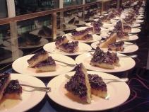 Dessert står på rad