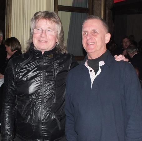 Janne Schaffer med vän