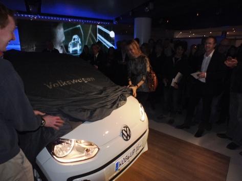 Avtäckning VW Beetle