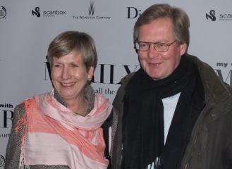 Mrs Anne K Lund - Norges ambassadör med man