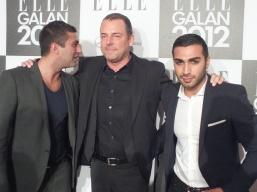 Navid Kabiri, Jonas Sandström och Roy Fares