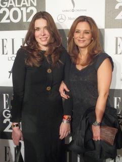 Rafaela Lindeberg med vän
