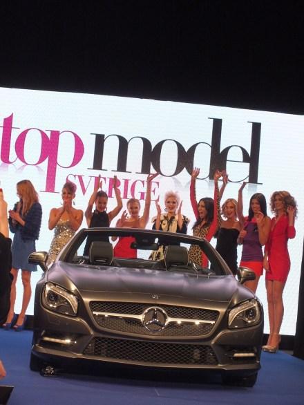 Final Top model fashion show