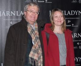 Erik Åsbrink med dotter