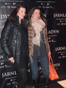 Sonja Aldén med vän