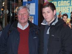 Lars Ohly med son