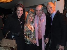 Ann & Leif Schulman med Anna Benson och sällskap