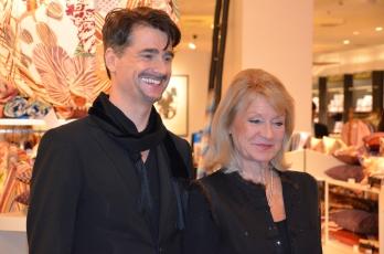 Alexandra Charles med Hans Hjelmqvist