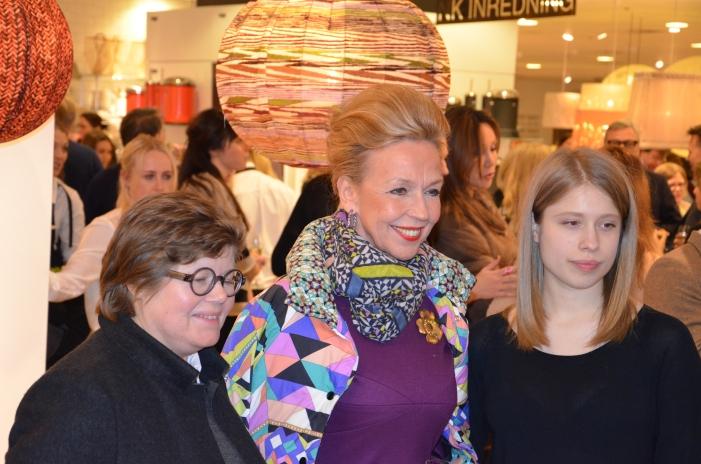 Gaby Borglund med vänner
