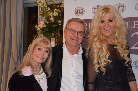 Ann & Leif Schulman med Maria Montazami